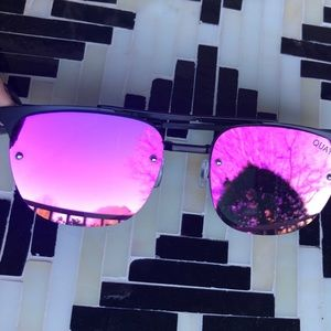 QUAY AUSTRALIA Mirrored Lena Sunglasses
